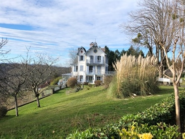 This Exquisite Country Residence, set in 11 hectares of grounds within the heart of the Jurancon win