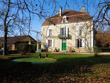 Just over 1 hour 30 minutes from Bordeaux International Airport, lies this handsome Chateau dating t