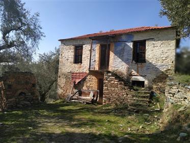 Πέτρινο σπίτι στο Πήλιο