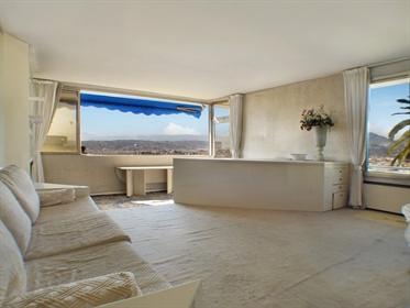 Nice Mont Boron: 3 pièces 85 m2 avec belle vue ville, mer et...