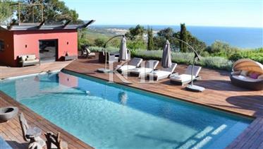 5 suíte quarto de luxo vivenda junto ao mar Cascais