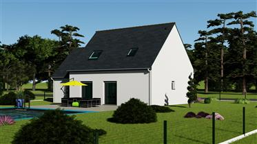 New 4 Bed House In Correze