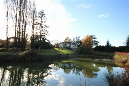 Contemporary 4 bed farmhouse with pool, nestling in the french countryside