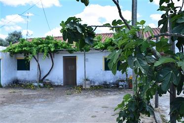- End traditional cottage for restauration