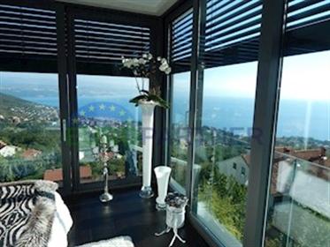 Vrhunska vila sa otvorenim pogledom na more - Lovran Na Opat...