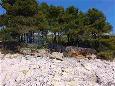 Top Lokacija- Otok HVAR-prvi red do mora-građevinsko zemljište Građevinsko Zemljište-Turis