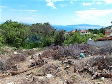 Građevinsko zemljište sa predivnim pogledom na more u Ičićim...