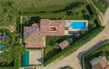 Beautiful stone villa with pool, Višnjan The landscapes of the picturesque Istrian region