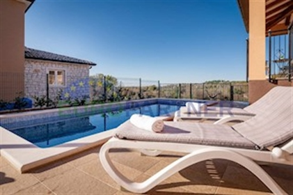 Luxury newly built villa with sea view, Porec Combining tradition and new technology, this