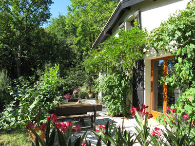 Rennes-Les-Bains - house with beautiful garden In a town wit...