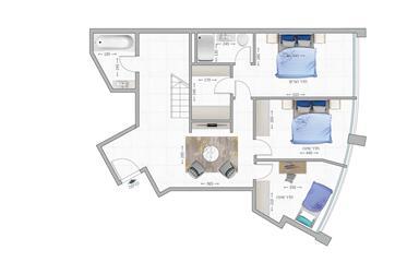 """דירה : 141 מ""""ר"""