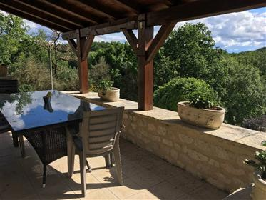 Fully Renovated Barn Conversion Close To Montcuq