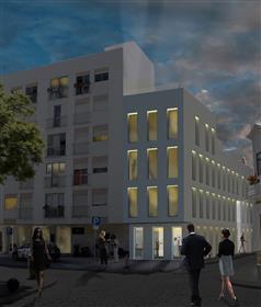 Unidade Hoteleira com projeto aprovado no centro de Faro