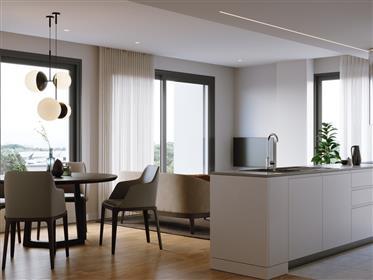 Apartamentos T2 de luxo no centro de Faro