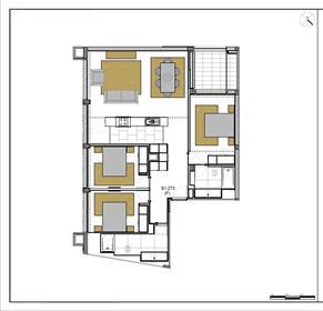 Apartamentos T3 de luxo no centro de Faro