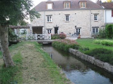Superb 18Th Century Water Mill, Completely Restored, With Approx. 275 M² Of Living Space Plus An Add
