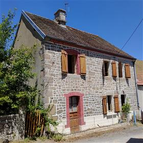 Detached Stone Property Of 80 M2+ Attached Barn Of 100 M2 + Attached Land Of 1700M2