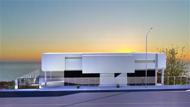 Lote com projecto de construção pré-aprovado para uma moradia com 4 quartos e vista de 180º para o m