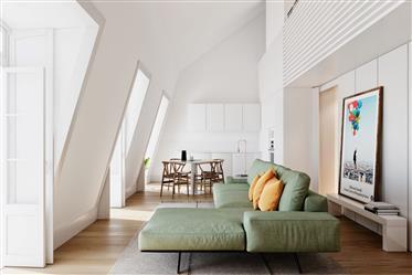 Empreendimento Augusta 170 - Apartamento T3 Duplex com 150 m²