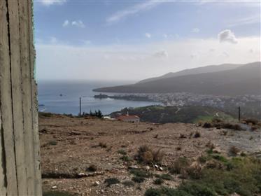 Ημιτελής Μονοκατοικία με καταπληκτική θέα στη Χώρα της Άνδρου