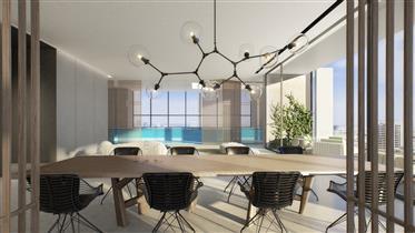 Sea View Penthouse On Rothschild Blvd.