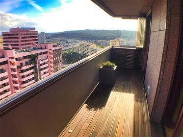 Deslumbrante apartamento de 5 quartos com vista panorâmica