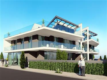 Apartamentos De 1- 2 E 3 Quartos Junto Á Praia Na Costa De P...