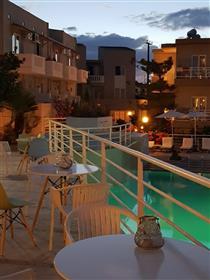 Κρητη Ηρακλειο Αγια Πελαγια    .Πωλείται Ξενοδοχείο  39  επιπλωμένων δωματίων και  διαμερισμάτων  σε