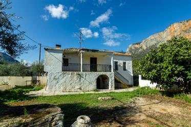 Stone house - restoration project at Leonidion, East Peloponnese