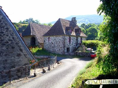 A detached house in Cantal