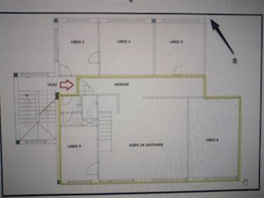 Zagreb, Heinzelova, ured 120 m², zakup U ponudi je uredski prostor površine 120 m². Nalazi