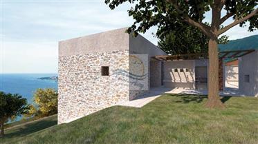 Terreno con vista mare e progetto approvato in vendita a Ospedaletti.