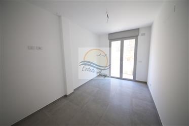 Appartement avec jardin et vue mer à vendre à Sanremo.