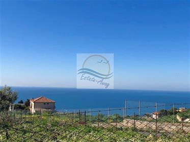 Rustico vista mare in vendita a Bordighera.