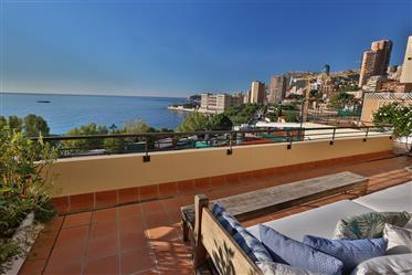 Pentouse on border of Monaco.