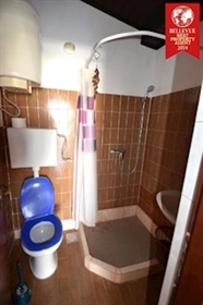 House only 20 meters from the beach. House is situated in second row to the sea, so it has