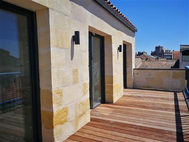 Magnifique T3 plein sud avec jolie terrasse Bordeaux