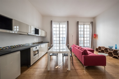 Contemporary flat near Beaubourg