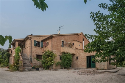 Casale Verdicchio is a typical Marche farmhouse: It is 5 km from Jesi, an ancient city of