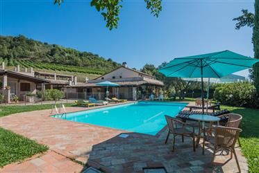 Exclusive property with swimming pool for sale in the Marche region