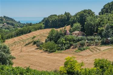 Casale ristrutturato in vendita a Massignano