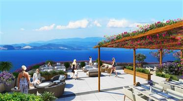 Luxury Beach Front Villas and Apartments For Sale with Resort Facilities