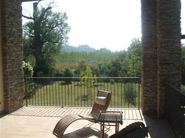 "This ancient noble mansion called ""Cascina del Lago"""