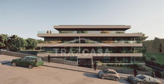 Apartamento T2 de Luxo - Lourosa em construção