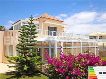 Sea view villa in the Golf Costa Adeje, Tenerife South!