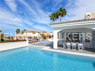 Large villa in the middle of the Golf Costa Adeje, Tenerife South!