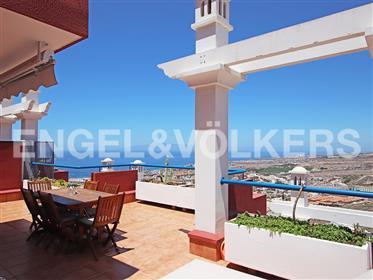 Fantástico apartamento con vistas al mar y gran terraza en Roque del Conde, Adeje, Tenerife Sur!