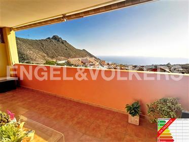 Apartamento con buen precio y vistas al mar en Roque del Conde, Adeje, Tenerife Sur!