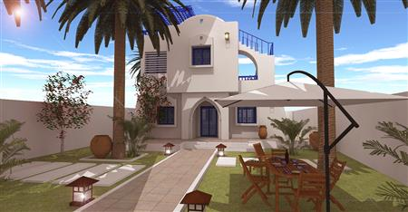 For sale Villa in Djerba, brand-new and with swimming pool