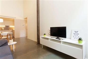 Bien ubicado apartamento con 2 habitaciones